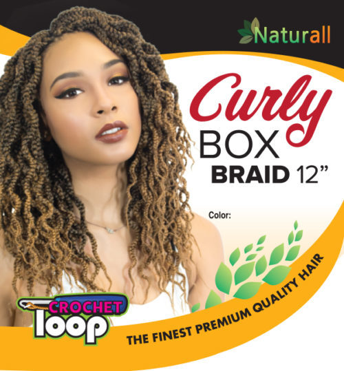 Urban Beauty Curly Crochet Box Braids 12''